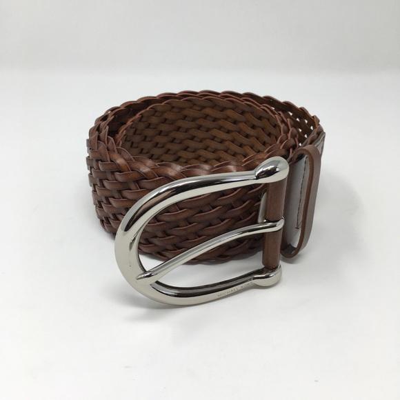MICHAEL Michael Kors Accessories - MICHAEL Michael Kors Woven Brown Belt Size M